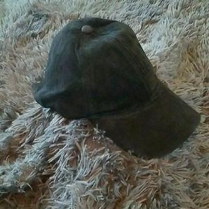MICHAEL STARS BLACK SUEDE CAP